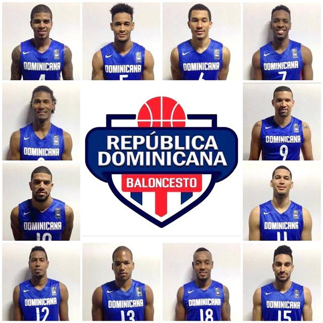 SELECCION DE BALONCESTO REPUBLICA DOMINICANA