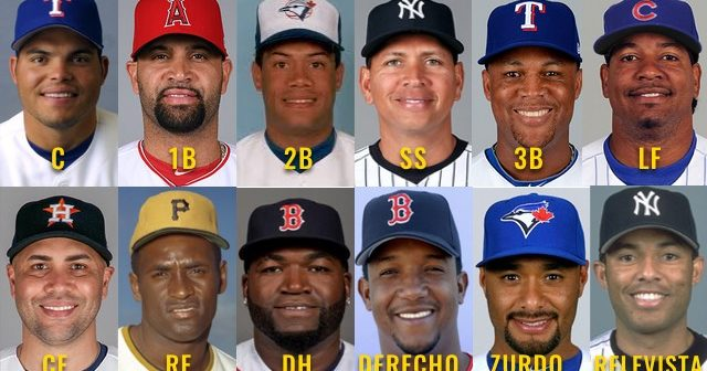 ALL STARS LATINOS GRANDES LIGAS