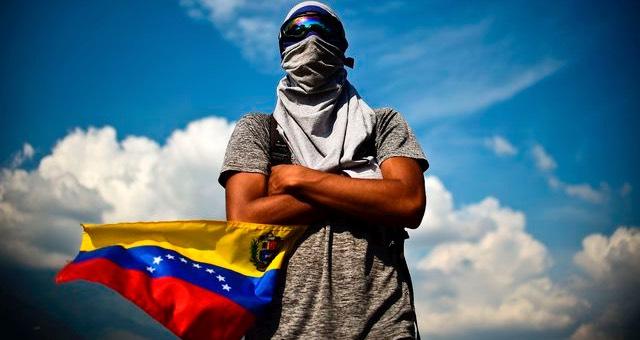 JOVENES EN LA RESISTENCIA VENEZOLANA