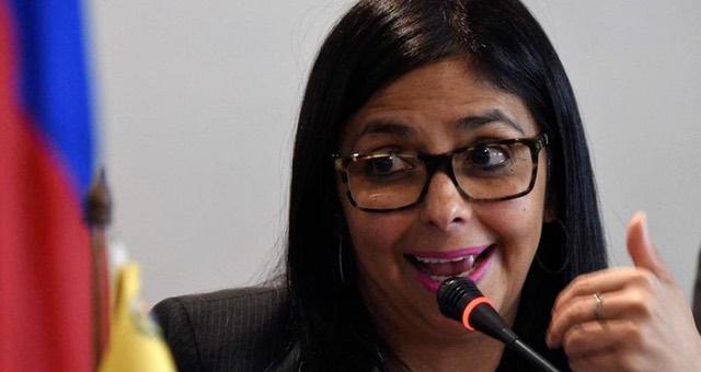 Delcy Rodriguez fundo el partido Somos Venezuela